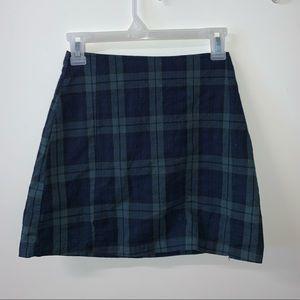 Brandy John Galt Cool Tones Schoolgirl Mini Skirt